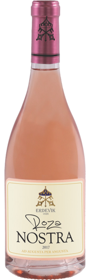 Roza Nostra - Vinarija Erdevik - Compania de Vinos Montenegro