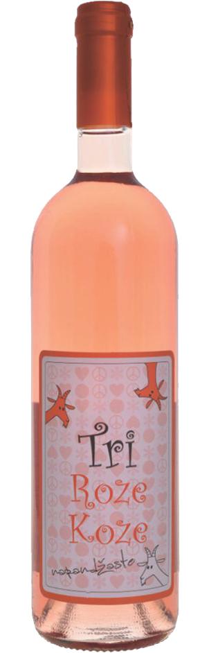 Tri Roze Koze - Vinarija Erdevik - Compania de Vinos Montenegro