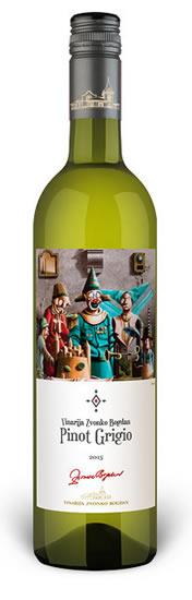 Vinarija Zvonko Bogdan - Pinot Grigio - Compania de Vinos Montenegro