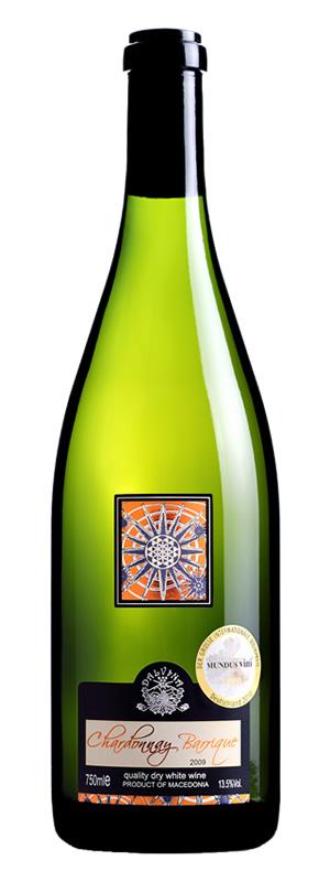 Vinarija Dalvina - Chardonnay Barrique - Compania de Vinos Montenegro