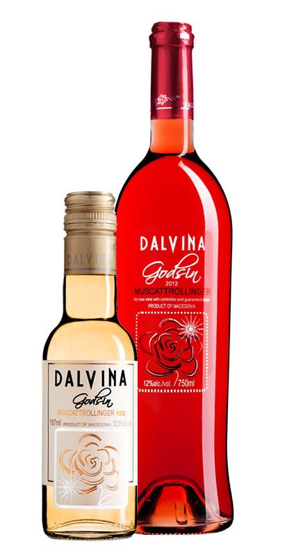 Vinarija Dalvina - Muscattrollinger Red Rose - Compania de Vinos Montenegro