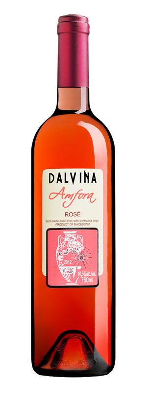 Vinarija Dalvina - Rose Amfora - Compania de Vinos Montenegro