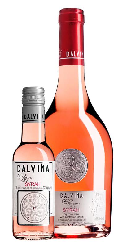 Vinarija Dalvina - Rose Elegija Syrah - Compania de Vinos Montenegro