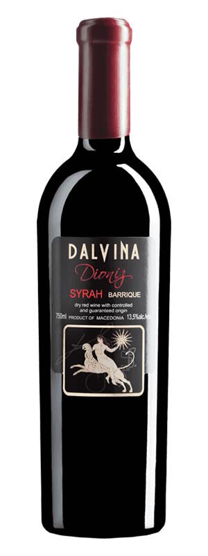 Vinarija Dalvina - Syrah Dioniz barrique - Compania de Vinos Montenegro