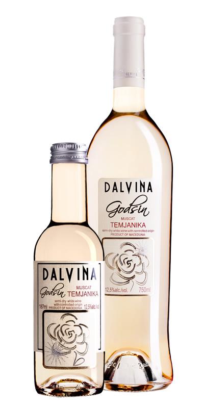 Vinarija Dalvina - Temjanika Muscat Godsin - Compania de Vinos Montenegro