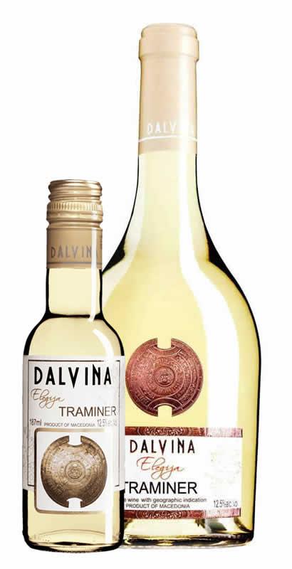 Vinarija Dalvina - Traminer Elegija - Compania de Vinos Montenegro