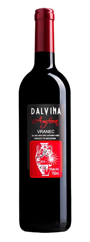 Vinarija Dalvina - Vranec Amfora - Compania de Vinos Montenegro