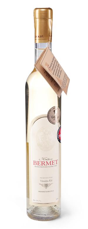 Vinarija Kiš - Bermet bijeli - Compania de Vinos Montenegro