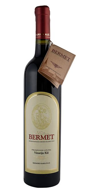 Vinarija Kiš - Bermet crveni - Compania de Vinos Montenegro