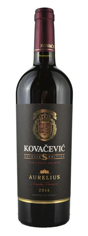 Vinarija Kovačević - Aurelius Edicija S - Compania de Vinos Montenegro