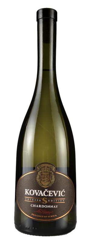 Vinarija Kovačević - Chardonnay Edicija S - Compania de Vinos Montenegro