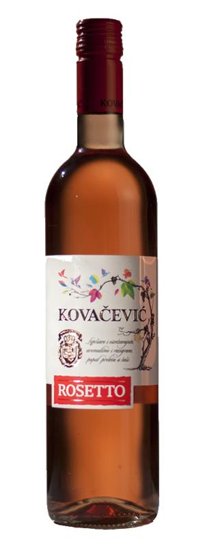 Vinarija Kovačević - Rosetto - Compania de Vinos Montenegro