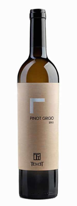 Vinarija Temet - Pinot Grigio - Compania de Vinos Montenegro