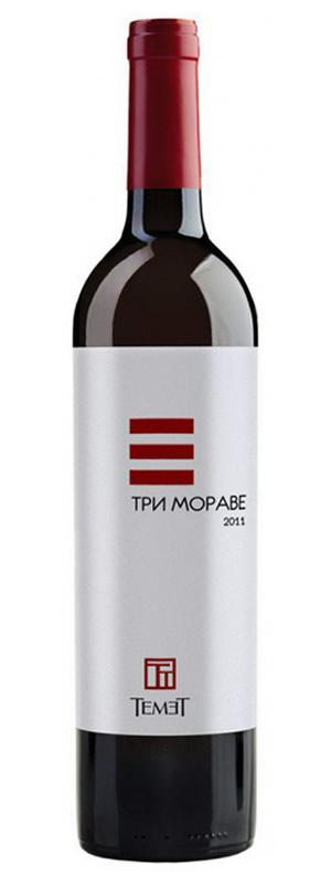 Vinarija Temet - Tri Morave Crveno - Compania de Vinos Montenegro