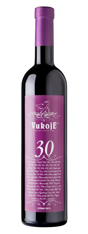 Vinarija Vukoje - Syrah 30 - Compania de Vinos Montenegro