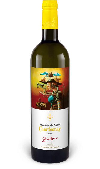 Vinarija Zvonko Bogdan - Chardonnay - Compania de Vinos Montenegro