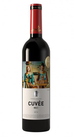 Vinarija Zvonko Bogdan - Cuvée Red No 1 - Compania de Vinos Montenegro