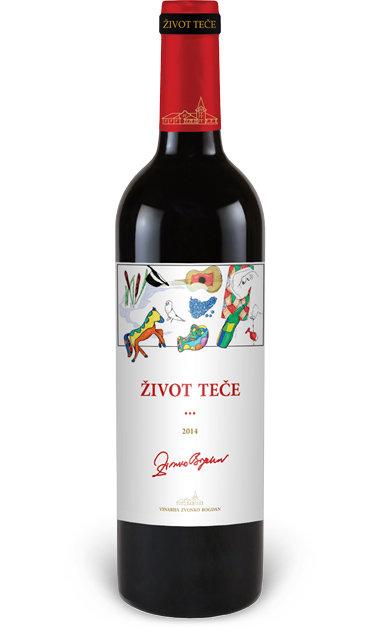 Vinarija Zvonko Bogdan - Život teče - Compania de Vinos Montenegro