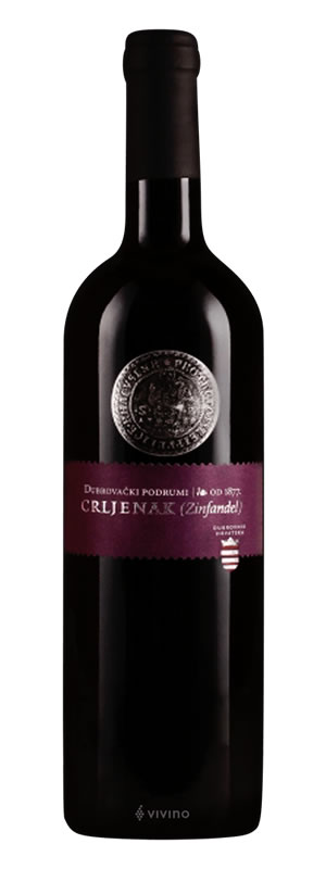Dubrovački podrumi - Crljenak (Zinfandel) - Compania de Vinos Montenegro