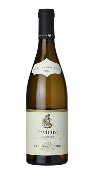 M. Chapoutier - Invitare Blanc Condrieu - Compania de Vinos Montenegro