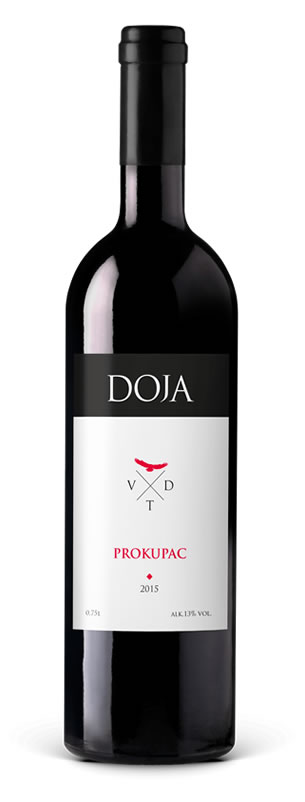Vinarija Doja - Prokupac - Compania de Vinos Montenegro