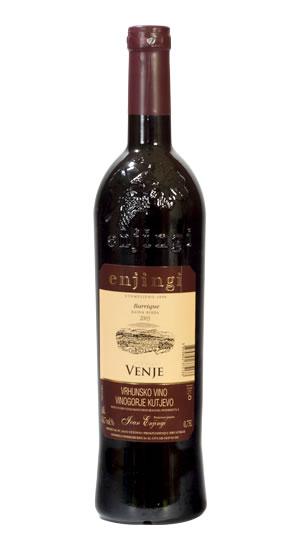 Vinarija Enjingi - Venje Crveno - Compania de Vinos Montenegro