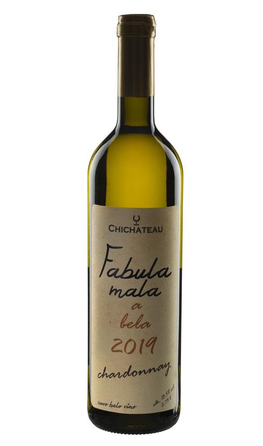 Fabula mala a bela Chardonnay - Chichateau vinarija - Compania de Vinos Montenegro